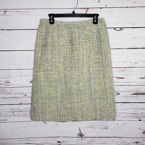 Pendleton Silk Straight Pencil Skirt Size 12P